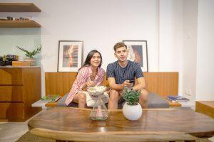 Apartemen di Bali   Living