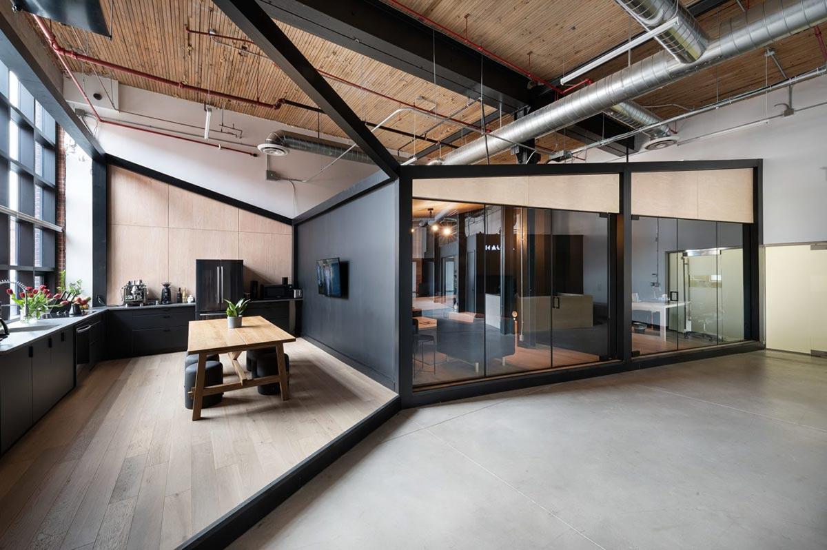 Penerapan Konsep Gaya Interior Industrial Pada Kantor