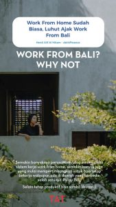 Bekerja dari Bali