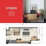 Pro dan Kontra Apartemen Studio